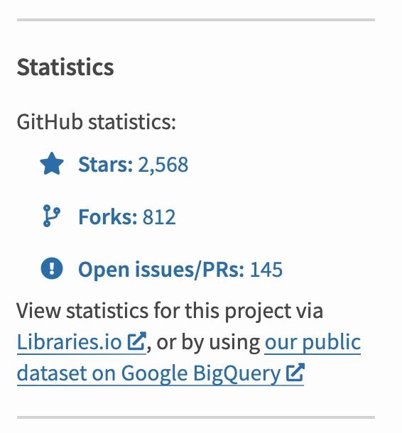 PyPI Github Stats